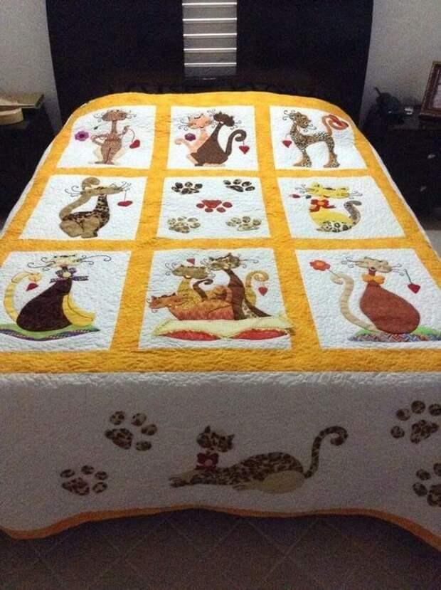 Cats CLA1010203Q Quilt Blanket