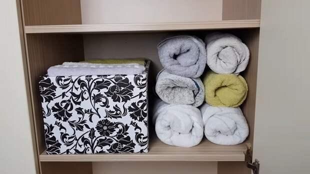 Компактно хранить — удобно доставать. А вы правильно складываете полотенца?