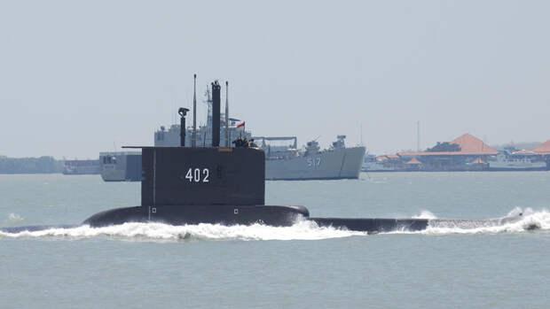 Эксперты назвали версии исчезновения индонезийской подлодки