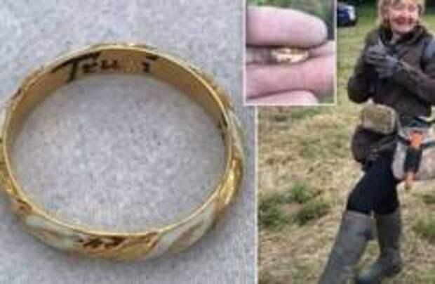Британская пенсионерка нашла кольцо Уильяма Шекспира