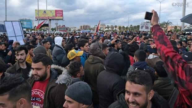 Жители Бенгази восстали против турецкой оккупации