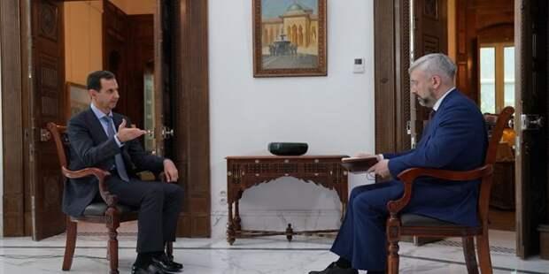 Башар Асад о войне и мире
