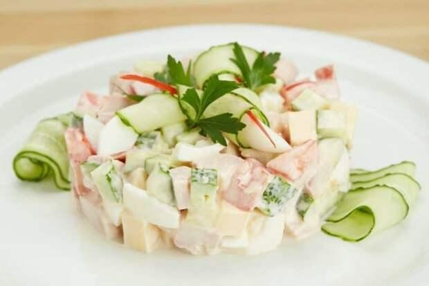 Салат Неженка. Вкусный салатик для разбавления обыденного меню 4