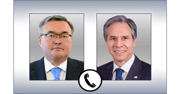 Главы внешнеполитических ведомств Казахстана и США провели переговоры