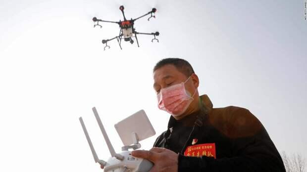 Как для борьбы с коронавирусом в Китае используют высокие технологии