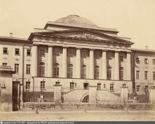 Московский Университет. Фотография 1872 года. Public Domain, Pastvu.com