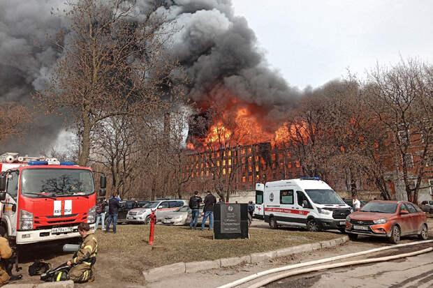 Гендиректор «Невской мануфактуры» задержан после гибели пожарного