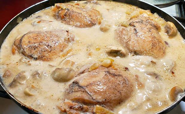Курица по-кабардински: мясо становится таким нежным, что нож не нужен