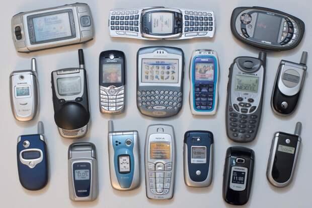 Прогресс телефонов.