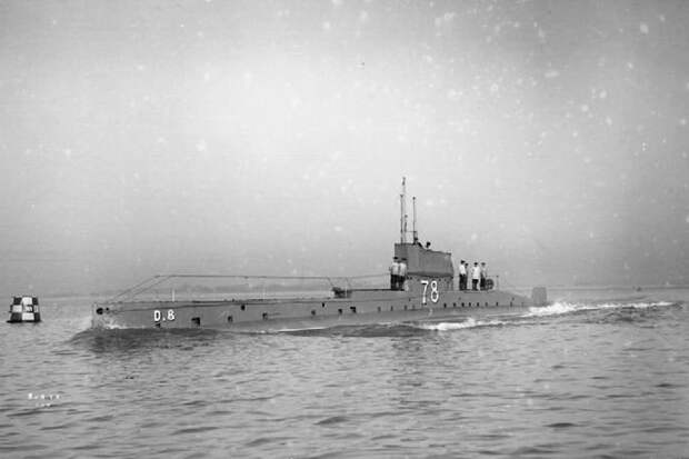 На дне Ла-Манша обнаружена 112-летняя британская субмарина D1