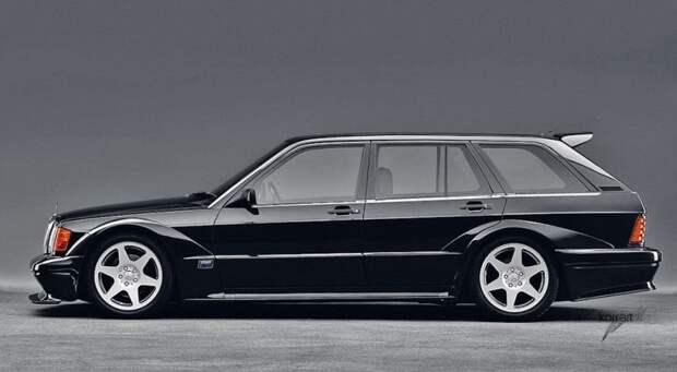 Mercedes-Benz 190E EVO2 Touring авто, автодизайн, автомобили, дизайн, фотомонтаж, фотошоп, юмор, янгтаймер