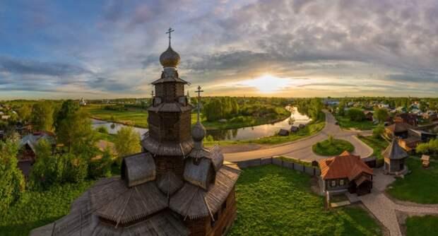 Золотое сечение и золотое кольцо России