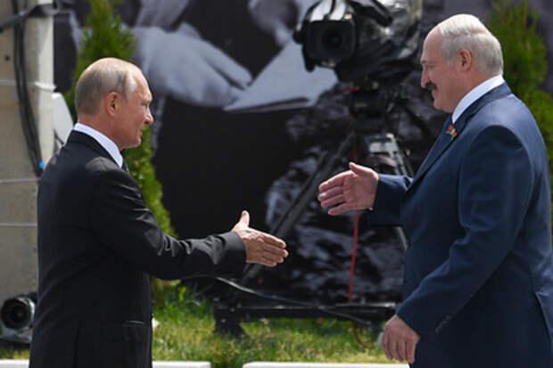 Путин и Лукашенко договорились встретиться в Москве