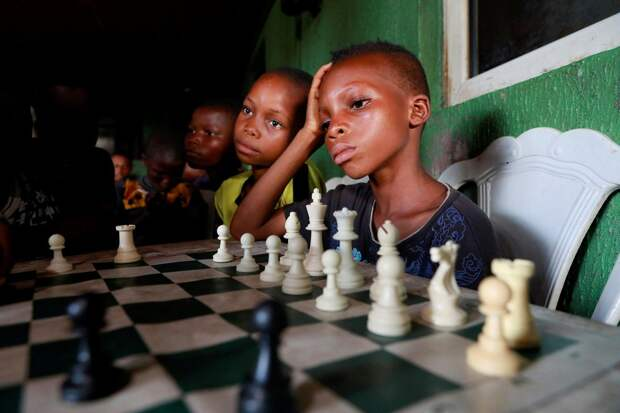 Интересные кадры из Африки