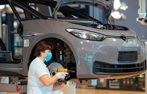Выпуск EV станет дешевле производства машин с ДВС