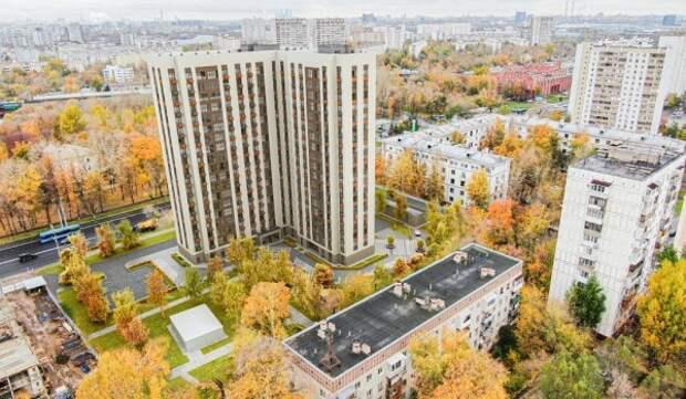 По программе реновации в районе Люблино строят и проектируют 11 жилых домов