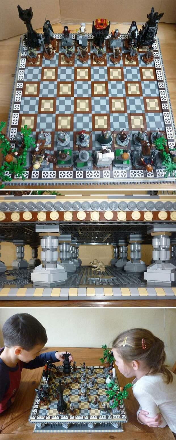 Lego шахматы