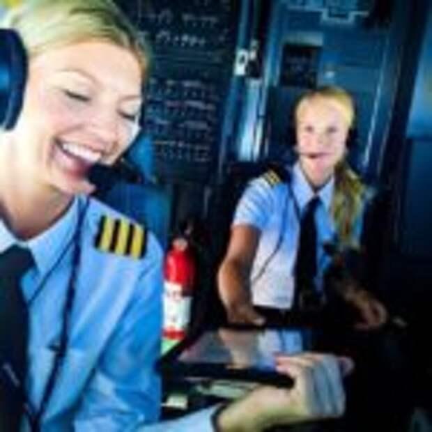 Красавица-пилот стала новой звездой интернета