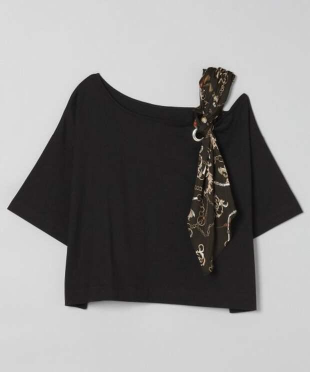 Крутые переделки футболок (с платками)
