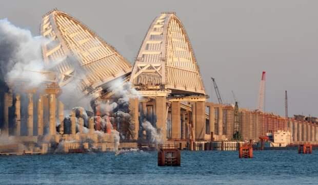 Опять за старое: на Украине предсказали катастрофу с Крымским мостом