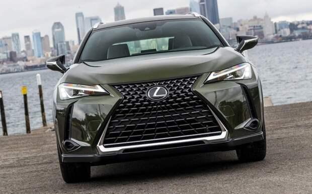 В России стартовали продажи нового кроссовера Lexus UX