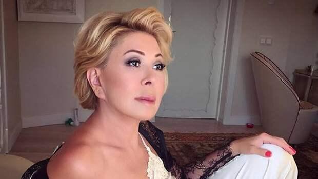 Любовь Успенская рассталась с мужем