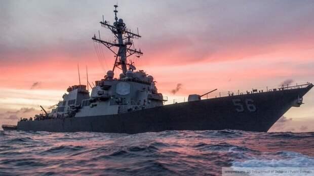 США заявили, что их эсминец не «изгоняли» из залива Петра Великого