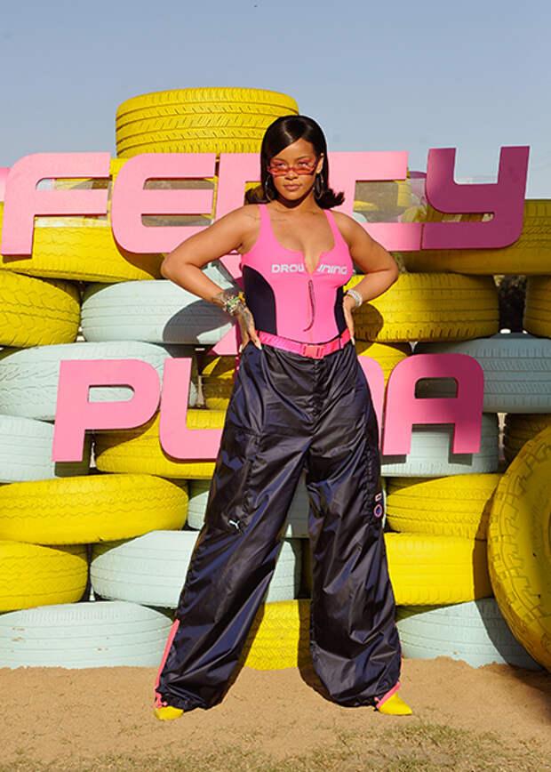 Рианна на показе собственной коллекции FentyXPUMA