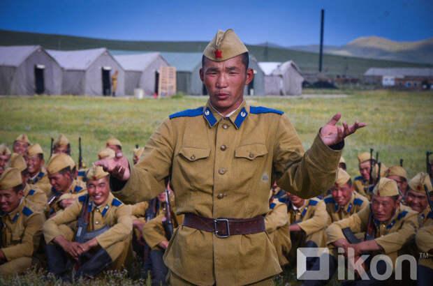 Курс молодого бойца в монгольской армии