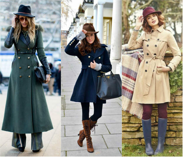 Выбор шляпы: мужская шляпа и милитари пальто