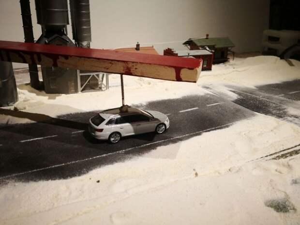Как сделать реалистичные рекламные фото, используя модельки машин