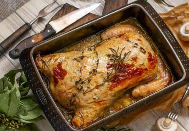 Как быстро очистить целую курицу от костей