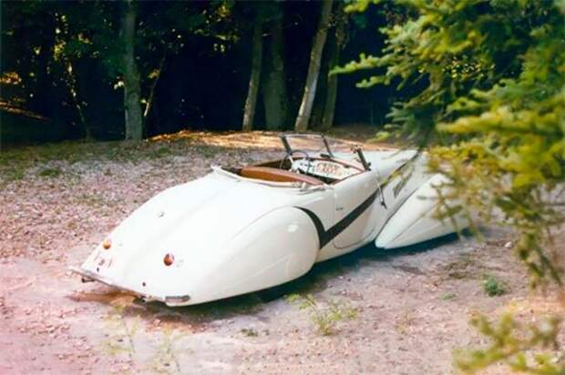 Кастомный Cadillac V16 Hartmann 1937 года