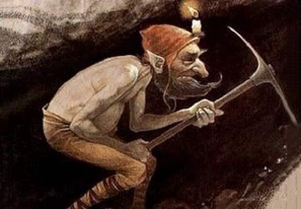 Гномы изрыли подземными ходами не только всю Европу