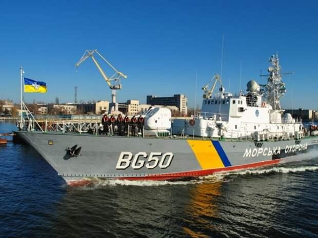 Российские корабли уличили в попытке помешать украинскому флагманскому судну встретить сторожевик США