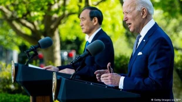 Премьер Японии похвастался доверительными отношениями сБайденом