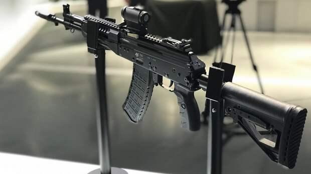 Росгвардия и МВД тестируют модернизированный автомат АК-12