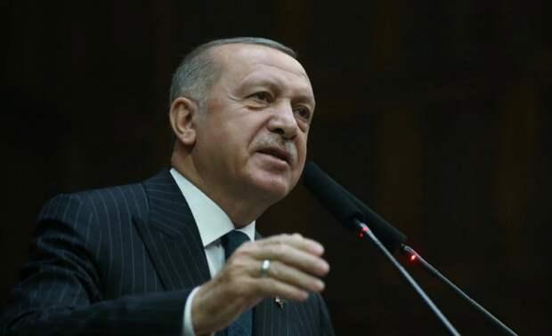 Эрдоган объявил о прекращении огня в Идлибе