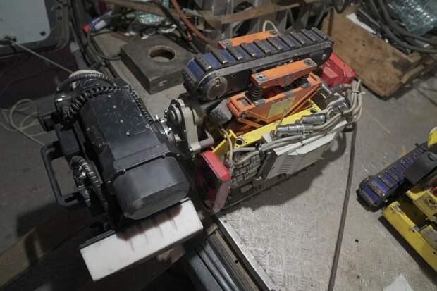 Робот на службе энергетиков Ижевска