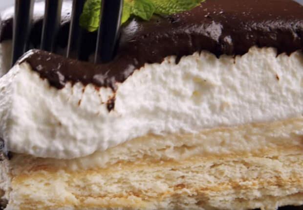 Смешиваем печенье и сливки: за 20 минут готовим нежный торт без выпечки