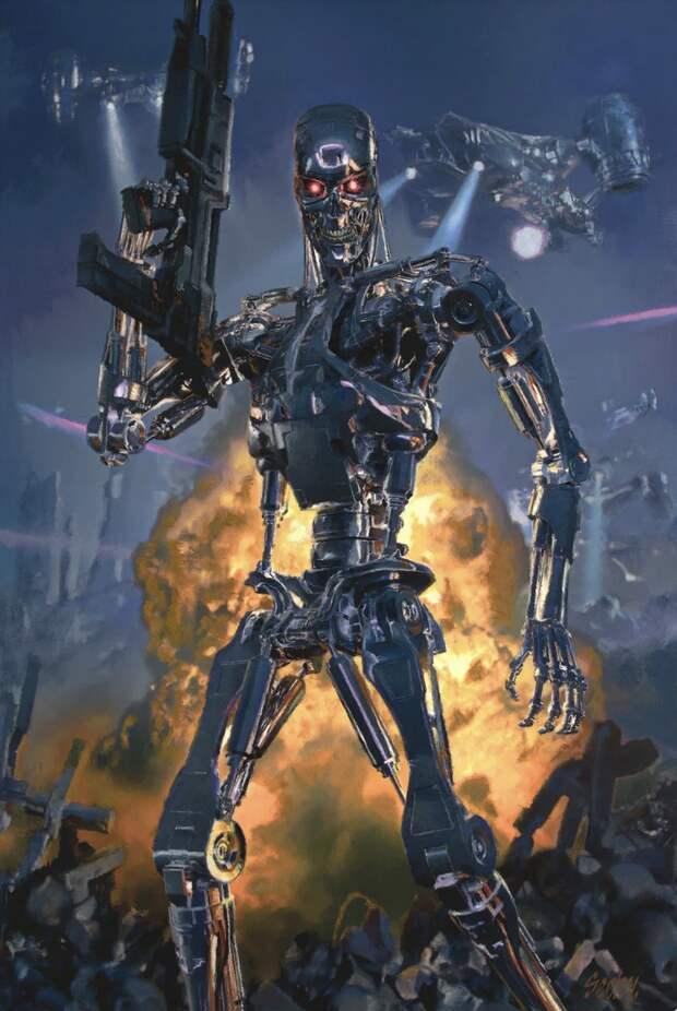 В России созданы боевые роботы с искусственным интеллектом, способные воевать самостоятельно (с) Шойгу