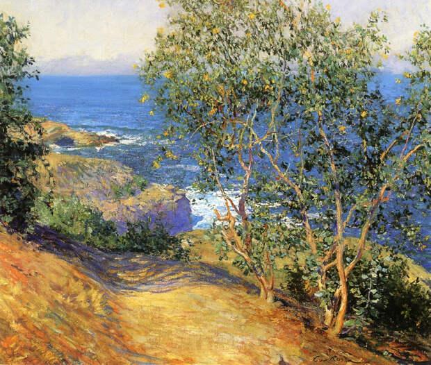 """""""Я люблю смотреть на море..."""" Американский художник Guy Orlando Rose (1867 - 1925)"""