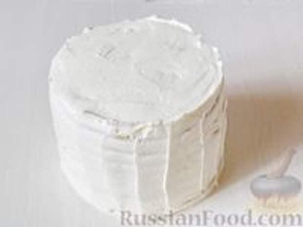 Фото приготовления рецепта: Медовик апельсиновый - шаг №21