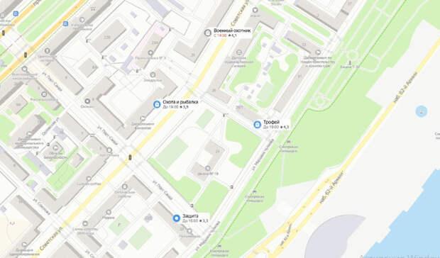 Школу в центре Волгограда «взяли в кольцо» оружейные магазины