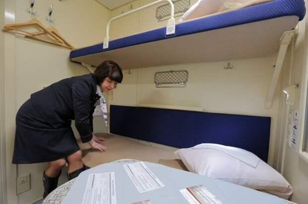 Порядок сбора постельного белья в поездах разъяснили в РЖД