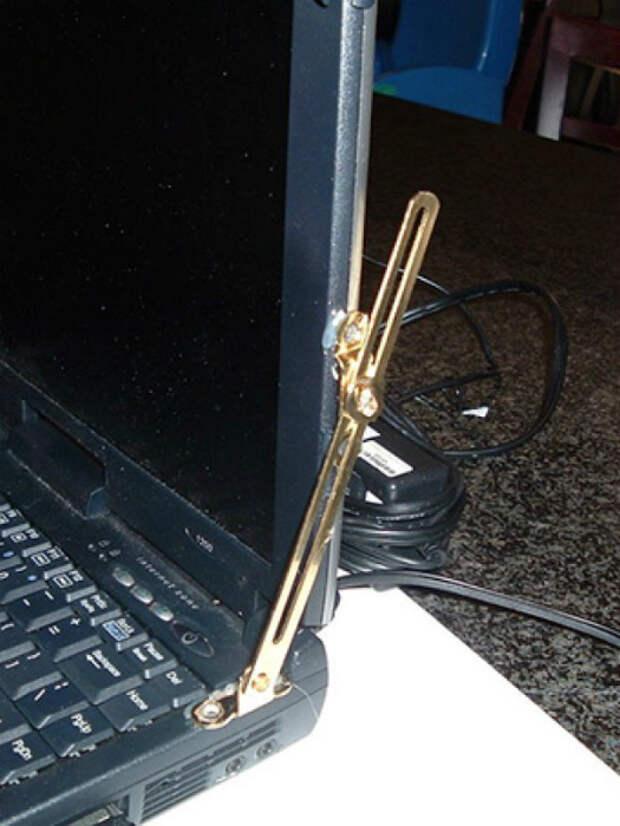 Уголки для ноутбука.