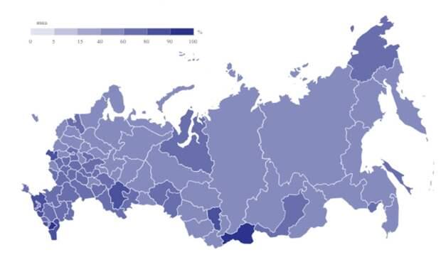 Вот как прошло голосование по поправкам к Конституции в регионах