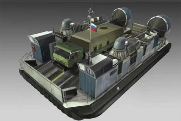 """""""Калашников"""" создал новое судно на воздушной подушке """"Хаска-10"""""""