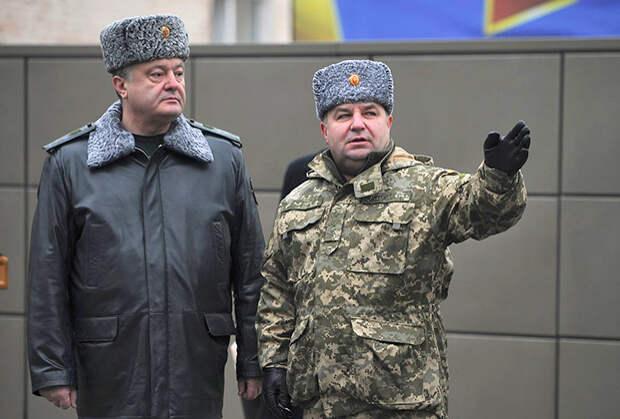 Генералы Порошенко грозят России 170-тысячной армией