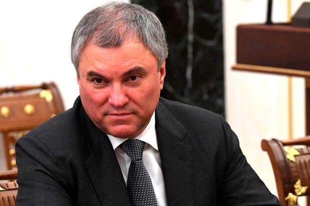 Володин дал свою оценку ситуации с ростом цен на металл